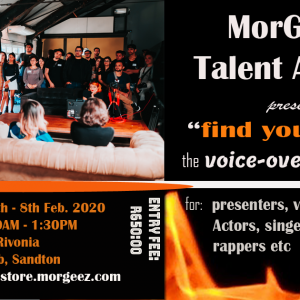 voice over workshop ticket