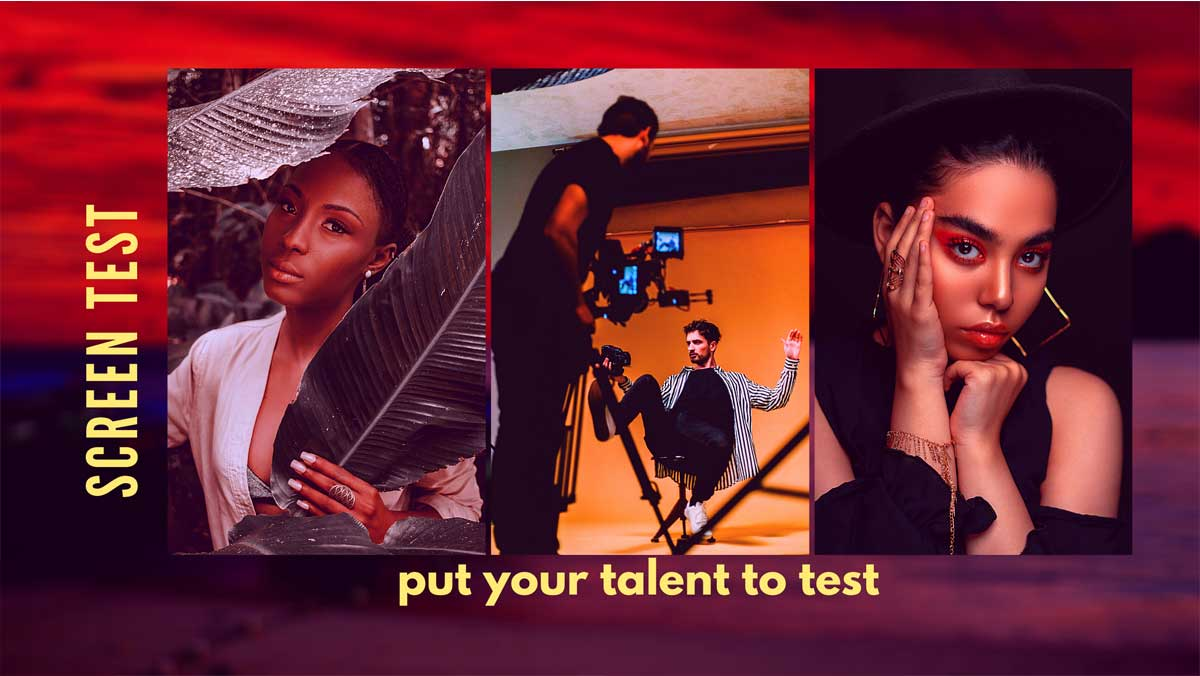 screen test for actors and models