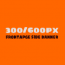 300x600px Frontpage Banner/M